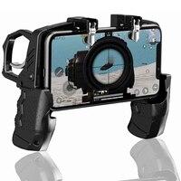Equipo de disparadores de botón K21 para teléfono móvil, controlador de juego para iPhone y Android