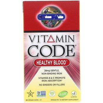 Vitamin code, healthy blood, 60 Cap sules
