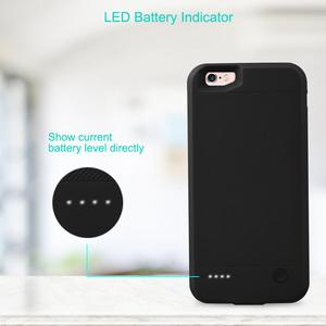 Image 4 - for iPhone 6 6s Power Bank Charging Cases 2800mAh Battery Charger Case Cover for iPhone 6 6s Ultra Slim External Back Pack