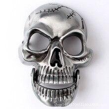 Пояс DIY аксессуары скелет череп ремень пряжка западный стиль ковбой гладкой панк-рок к18
