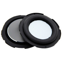 2pcs Strengthen Vibration Home Theater Membrane Speaker Diaphragm Passive Radiator 55mm DIY Accessories Bass Rubber Audio Woofer(China)