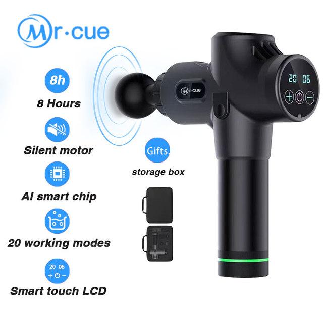 Massage Gun Muscle Massage LCD 8 hours work AI smart mute massager Body relaxation massage