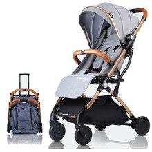 Baby stroller ultra light portable sit reclining folding mini stroller baby bb stroller