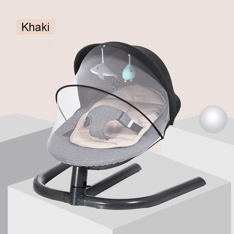 H2905165ca30a48839bcc791fc2c9ef64X Newborn Baby Rocking Chair Baby Bed Swing Soothing Music Chair Non-electric Manual Swing Shaker Infant Cradle