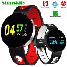 X11 Smart Watch Men Women Blood Pressure Round Watches Smartwatch Heart Rate Fitness Tracker message reminder For Android Ios