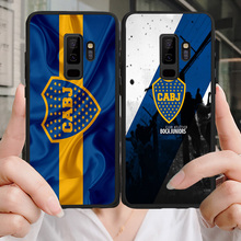 Phone Case Tevez For Samsung Galaxy S10 S8 S9 Edge DIY Black Soft TPU For Boca Juniors FC A9 C10 C9 J7 Max Note 9 S6 S7 S8 S10E