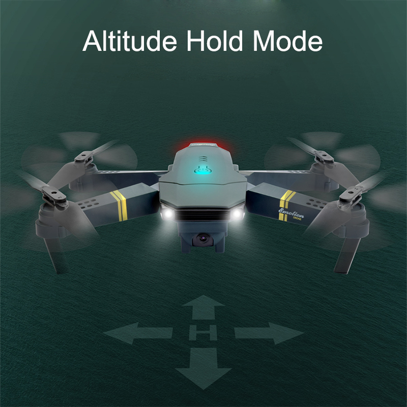 RC Drone WIFI FPV With Wide Angle HD 1080P Camera Hight Hold Mode Foldable Arm RC Quadcopter Drone X Pro RTF Dron For Gift Toys