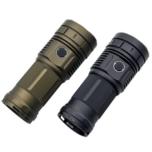Haikelite HK04 4 x XHP50.2 13000LM 750m Anduril UI Bright Flashlight Waterproof Torch