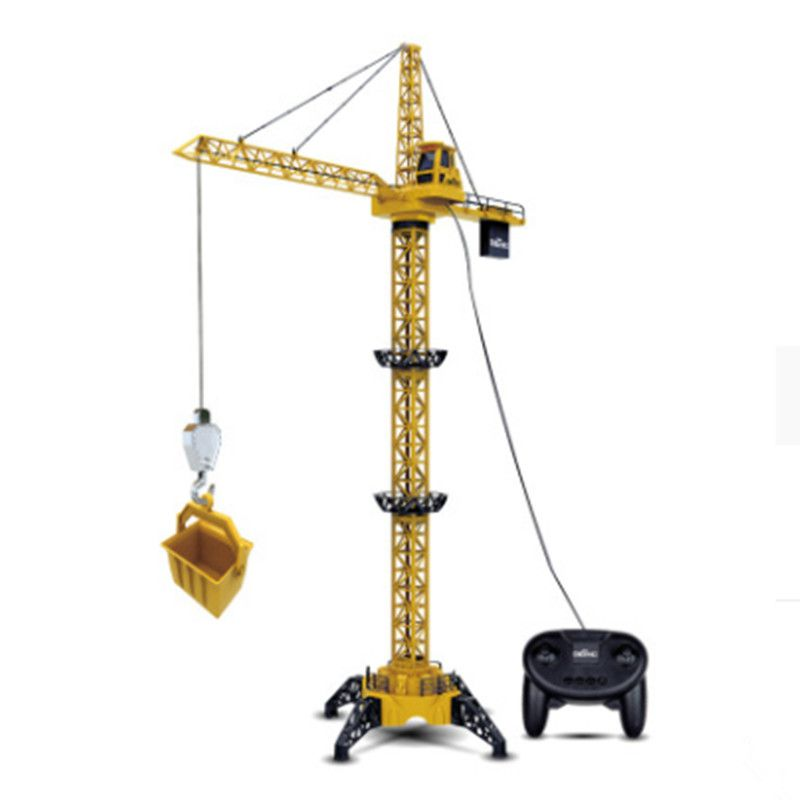 Eighty Heavy Industry Remote Control Engineering Vehicle Toy Tower Crane Remote Control Large Crane Tower 1 Meter 3