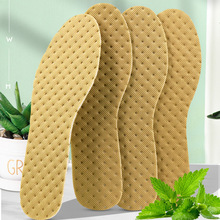 5 Pairs Deodorant Insoles Light Weight Shoes Pad Absorb-Sweat Breathable Bamboo Charcoal thin Sports Insoles Men Women