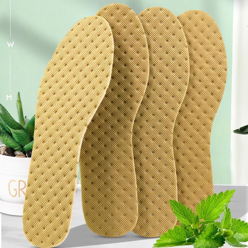 5 paires de semelles déodorantes, chaussures légères, coussin absorbant la sueur, respirant, charbon de bambou, semelles de sport fines pour hommes et femmes