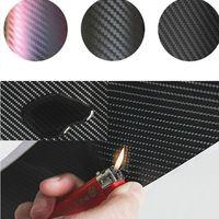 diy car 5D Car Sticker Glossy Carbon Fiber Roll Film Foil Waterproof Decorative Paper Wrap DIY Auto Accessories 50 X 200cm (2)