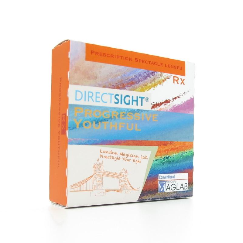 MagicStone DirectSight R16 Rx Freeform progressif jeune clair de 1.50 à 1.74 VS3 verres de Prescription UV400 clair 54476