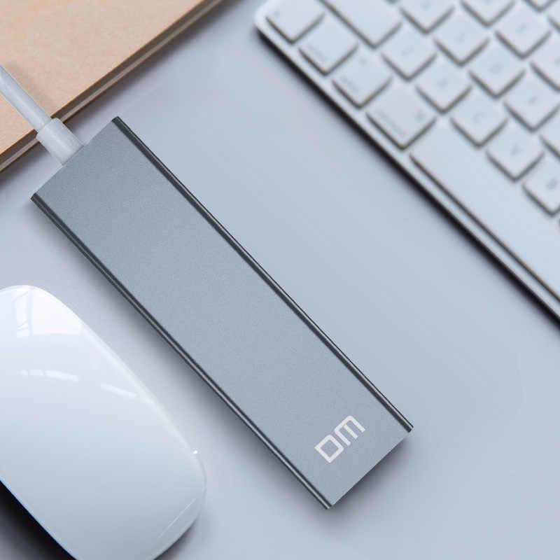 3 منفذ USB3.0 عالية السرعة محور مع 1000mbps منفذ إيثرنت CHB012 دعم 1 تيرا بايت HDD نقل سرعة تصل إلى 300 برميل/الثانية