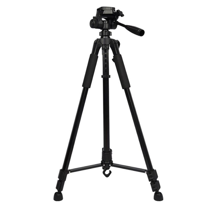 Camera Tripod 1.6M Telescopic Portable Outdoor Mobile Phone Live Camera Photography Mini Single Tripod