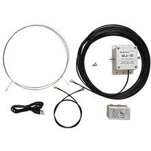 Heißer MLA 30 Schleife Antenne Aktive Empfangsantenne Geräuscharm Balkon Erektion Antenne 100 KHz 30 MHz für HA SDR kurze Welle Radio