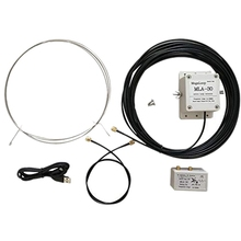 Hot MLA 30 Loop Antenne Actieve Antenne Low Noise Balkon Erectie Antenne 100 KHz 30 MHz voor HA SDR korte Golf Radio