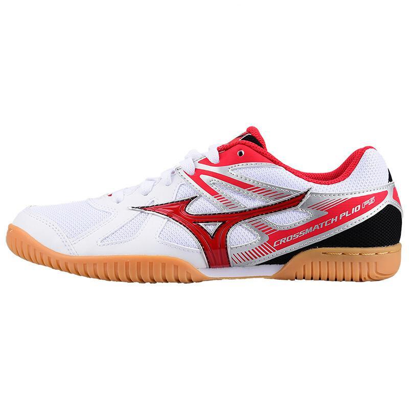 Оригинальная обувь Mizuno Cross Match Plio Cn для настольного тенниса для мужчин и женщин; обувь для тренировок в помещении; амортизирующая национальная команда; кроссовки - Цвет: 81GA183262