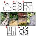 Садовый DIY Пластиковый трап производитель тротуар модель бетон шаговый камень цемент плесень кирпич SEP99