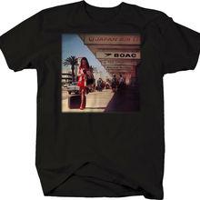 Camiseta de vacaciones Vintage de viaje de los años 60 del aeropuerto americano