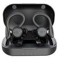 20 ore di riproduzione nuoto auricolare Bluetooth impermeabile Dual Wear Style Sport cuffie Wireless TWS Ipx7 auricolari Stereo
