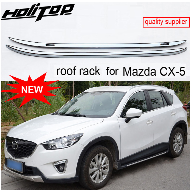 upgraded roof rack roof rail roof bar for mazda cx 5 2013 2014 2015 original design supplied by iso9001 factory stable quality