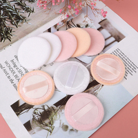 5pcs Microfiber Cloth Pads Facial Makeup Remover Puff Cotton Double layer Face Cleansing Towel Reusable Nail Art Cleaning Wipe 1