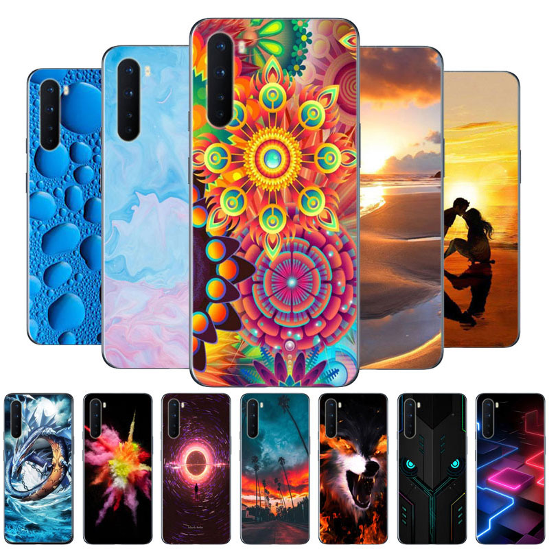 For OnePlus Nord Case 2020 New Printed Soft Silicone Back Cover Phone Case For One Plus Nord 5G OnePlus Z 1+Nord funda capa etui