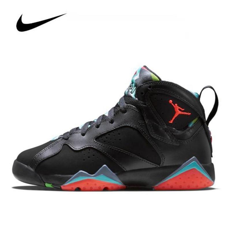 Unisex Nike Air Jordan 7 Retro Men's Jordan Shoes Retro Basketball Shoes Comfortable Gym Training Women Boots High Top