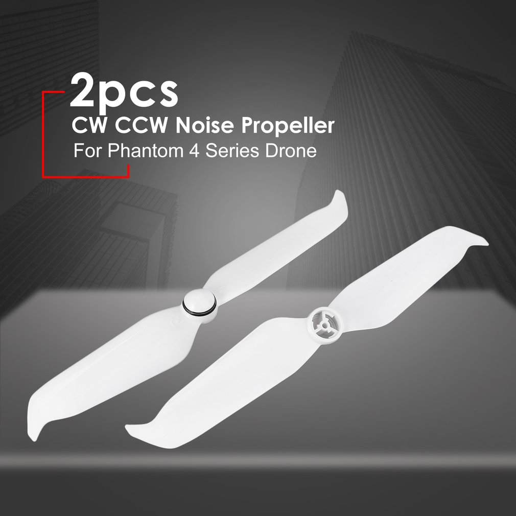 2pcs 9455S Low Noise Propeller CW CCW Quick Release Props Blade Spare Parts for DJI Phantom 4 Pro V2 0 Advanced Series Drone in Parts Accessories from Toys Hobbies
