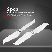 2pcs 9455S Low Noise Propeller CW CCW Quick Release Props Blade Spare Parts for DJI Phantom 4 Pro V2.0 Advanced Series Drone стоимость