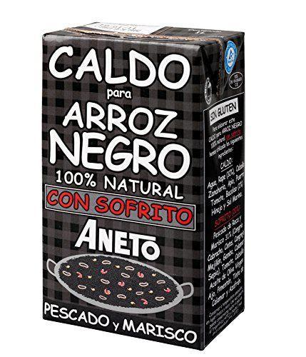 Aneto Caldo Para Arroz Negro - Brühe Für Schwarzen Reis, 1er Pack (1 X 1 L)