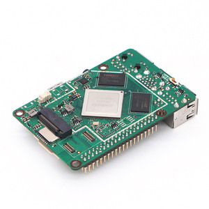 Image 5 - ROCK PI 4B V1.4 Rockchip RK3399 ARM Cortex Six Core SBC/Single Board Computer Compatible with Official Raspberry Pi Display