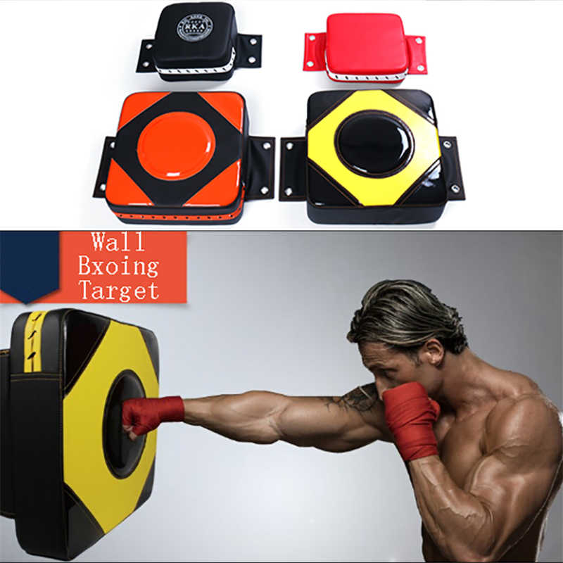 Faux Leather Wall Punching Boxing Pad Punch Target Training Dummy Bag Fighter