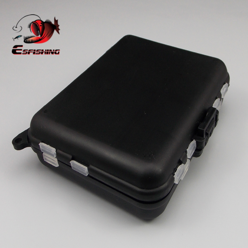 Kesfishing Mini Fishing Tackle Boxes Hook Storage Case Compartments Box Fish Lures  Plastic Storage Holder  Fishing Accessories