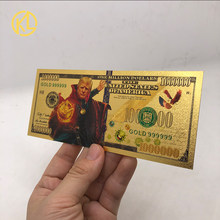 Mais tipos américa moeda comemorativa presidente 1000000 dólares dos eua ouro trump moeda nós confiamos na coleção de ouro e presente