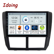 Multimedia-Player Carplay Idoing Subaru Wrx Forester 3 Radio Navigation Gps Bluetooth5.0