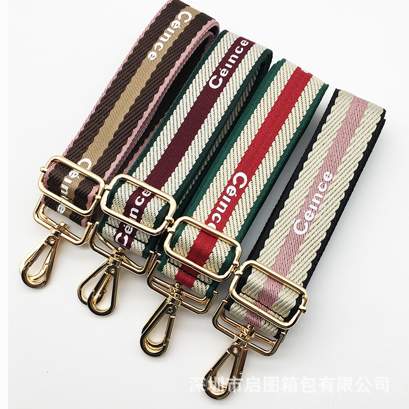 New Luxury Fashion Nylon Belt Bag Straps Obag Accessories Adjustable Wide Strap For Women Shoulder Messenger Bags Handle Obag