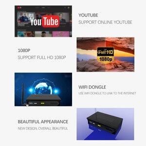 Image 3 - Vmade Europeo C line HD DVB S2 M5 lnb ricevitore satellitare 1080P pieno Spagnolo Portoghese Arabo TV box con USB Wifi reception