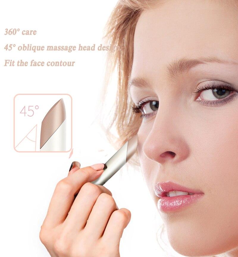Massageador elétrico Olho Lábios Reparação Íon Facial
