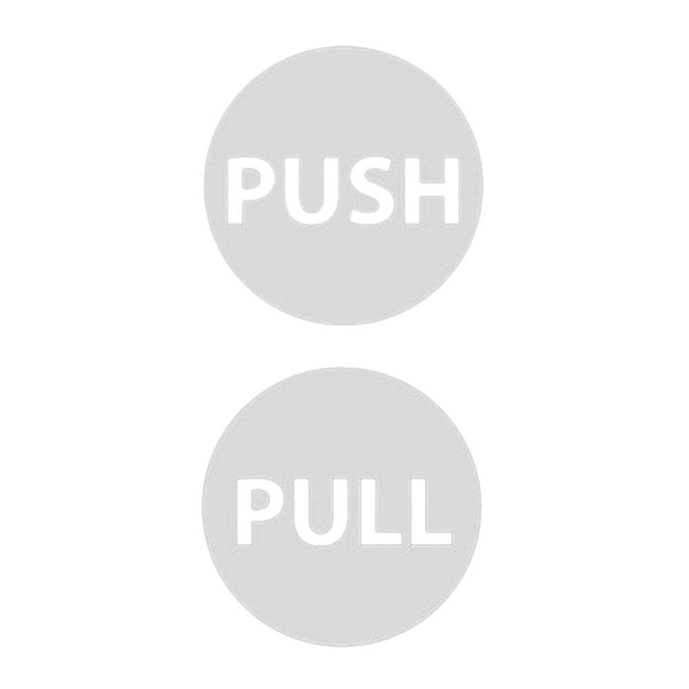 Pull Push Door Signs Shop Window Salon Hotel Restaurant Office Cafe Sign fixings