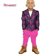Дашики африканская детская одежда для мальчиков топ + брюки