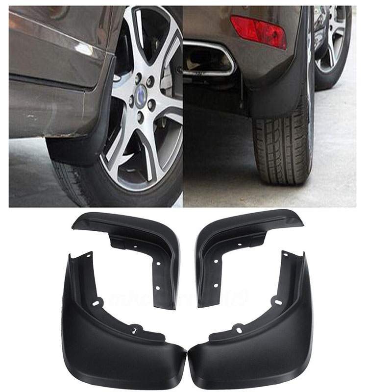 Fit For <font><b>Volvo</b></font> <font><b>XC60</b></font> 2014 2015 <font><b>2016</b></font> 2017 4PCS Front Rear Mud Flap Splash Guard Mudguard image