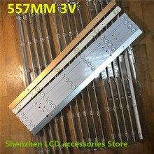 22 ชิ้น/ล็อตสำหรับ Hisense LED50K20JD LED Light SVH500A22_REV05_6LED_131113 ใหม่และต้นฉบับ 100% 557 มม.3 V 100% ใหม่