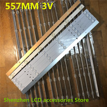 22 יח\חבילה עבור Hisense LED50K20JD LED אור SVH500A22_REV05_6LED_131113 חדש ומקורי 100% 557MM 3V 100% חדש