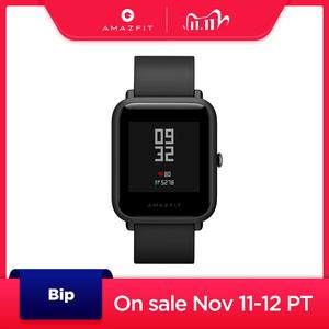 New Global Version Amazfit Bip Smart Watch GPS GLONASS Smartwatch Watches 45 Days Standby for Android Phone IOS