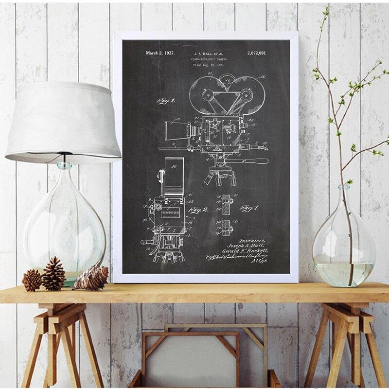 Camera Patent Poster Print