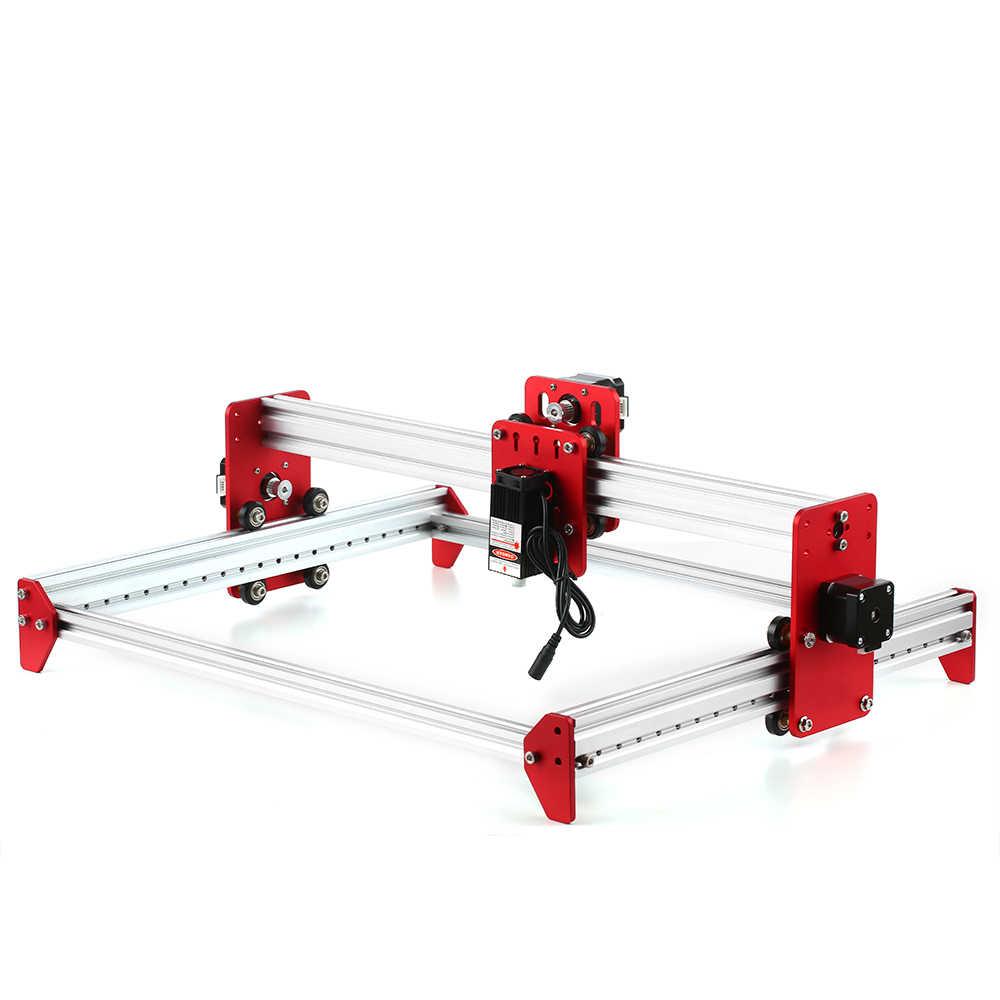 Nouveau bricolage bureau Mini Laser gravure Machine A3 Laser Machine 500 mw/2500 mw/5500 mw cadre en métal bon jouet
