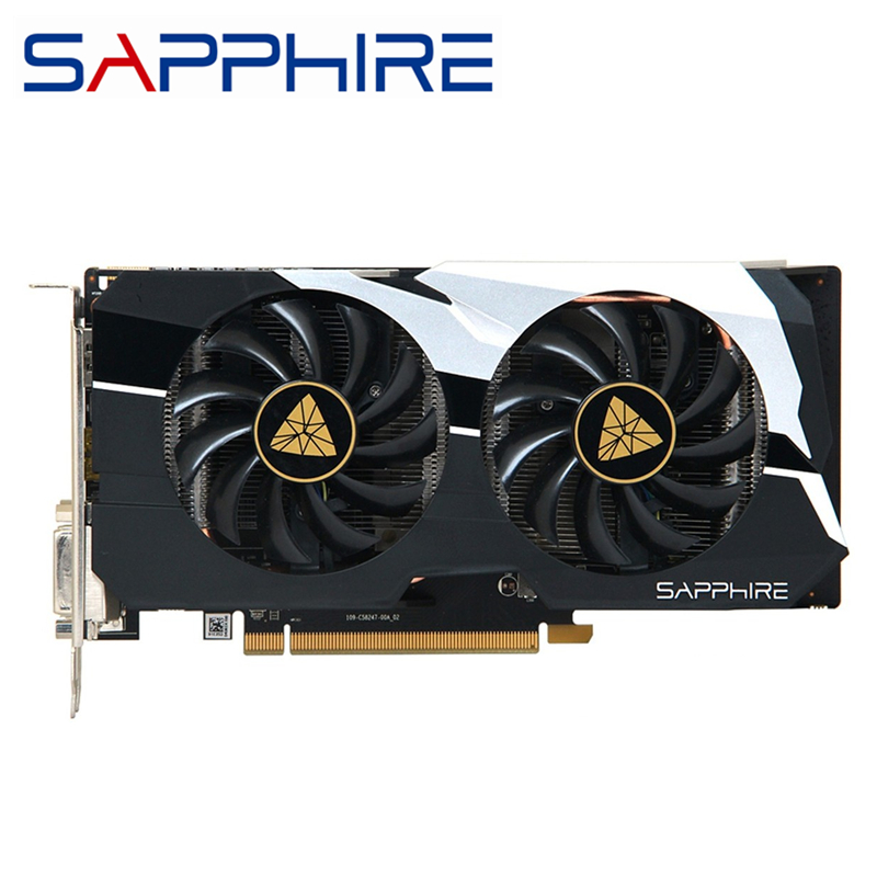 SAPPHIRE R7 260X 2GB Video Cards GPU AMD Radeon R7260X 2G GDDR5 Graphics Cards Computer Game Map Cards <font><b>GTX</b></font> 750ti 750 image
