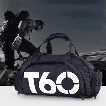 Waterproof Gym Sports Bag Fitness Training Outdoor Backpacks Multifunctional Travel Luggage Shoulder Handbag for men women Gift 1